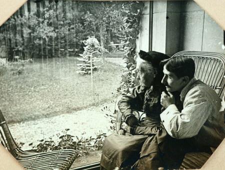 Jacques Majorelle et sa grand-mère