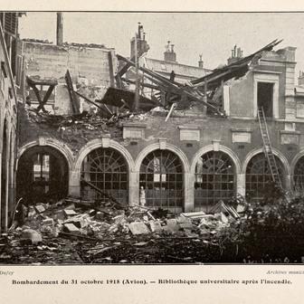 14-18 : Nancy bombardée