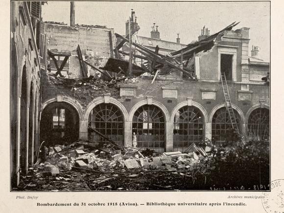 Contenu du 14-18 : Nancy bombardée