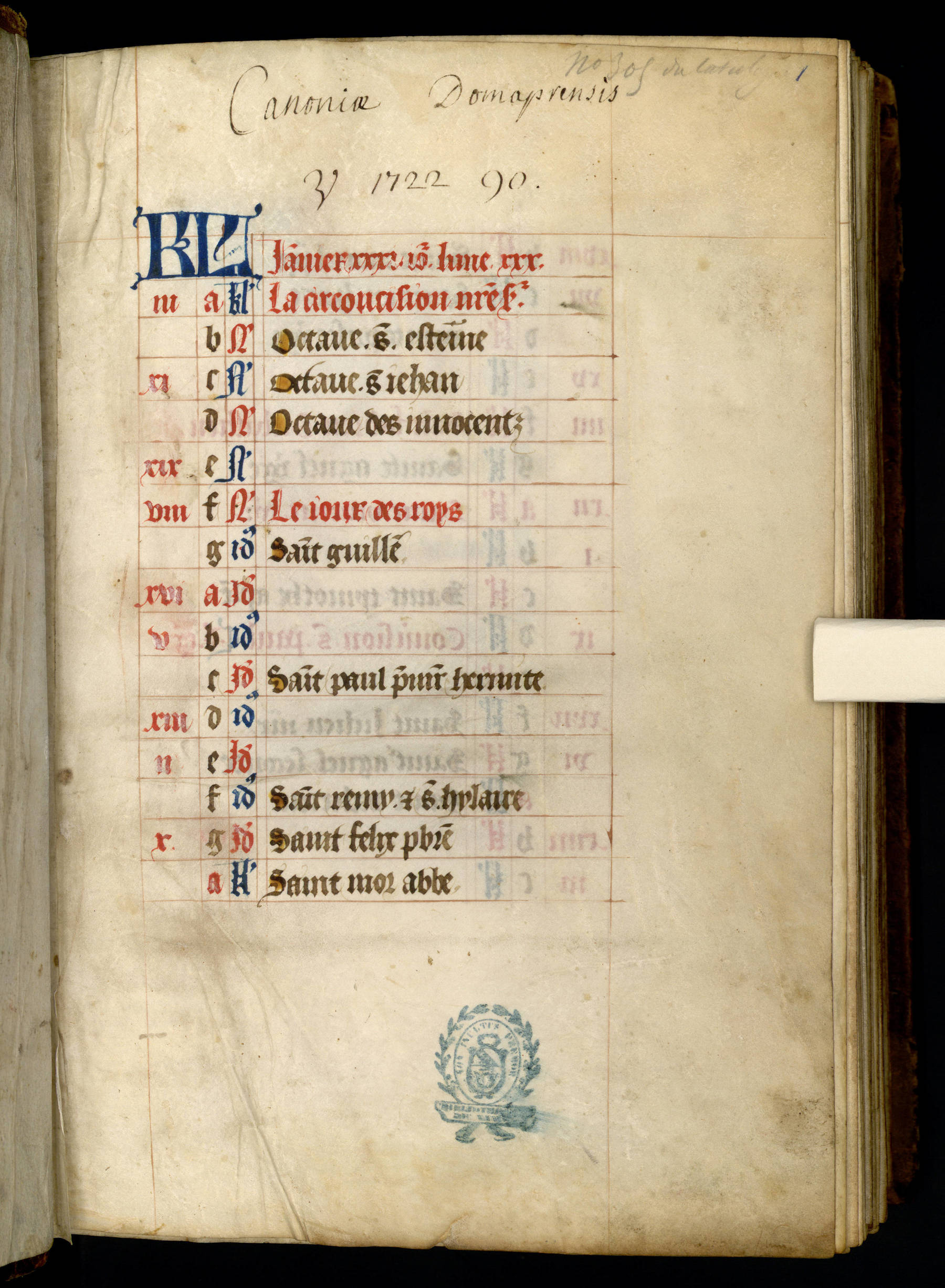 """Contenu du """"KL"""" lettres peintes"""