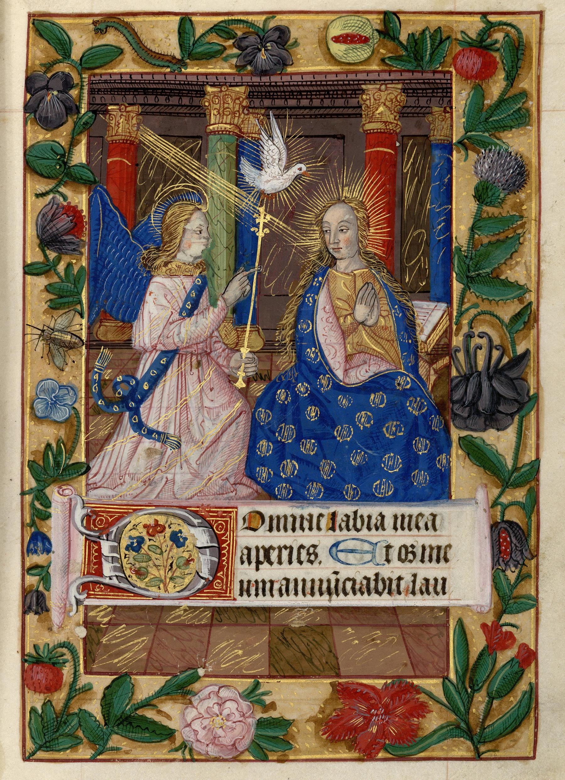 Contenu du Les heures de la Vierge : Matines