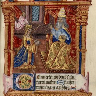 La dévotion mariale dans les livres d'Heures