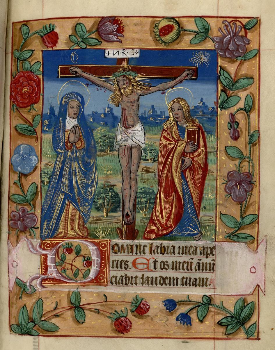 Contenu du Les Heures de la Croix, du Saint-Esprit et les heures secondaires