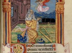 Contenu du Les psaumes dans les livres d'heures