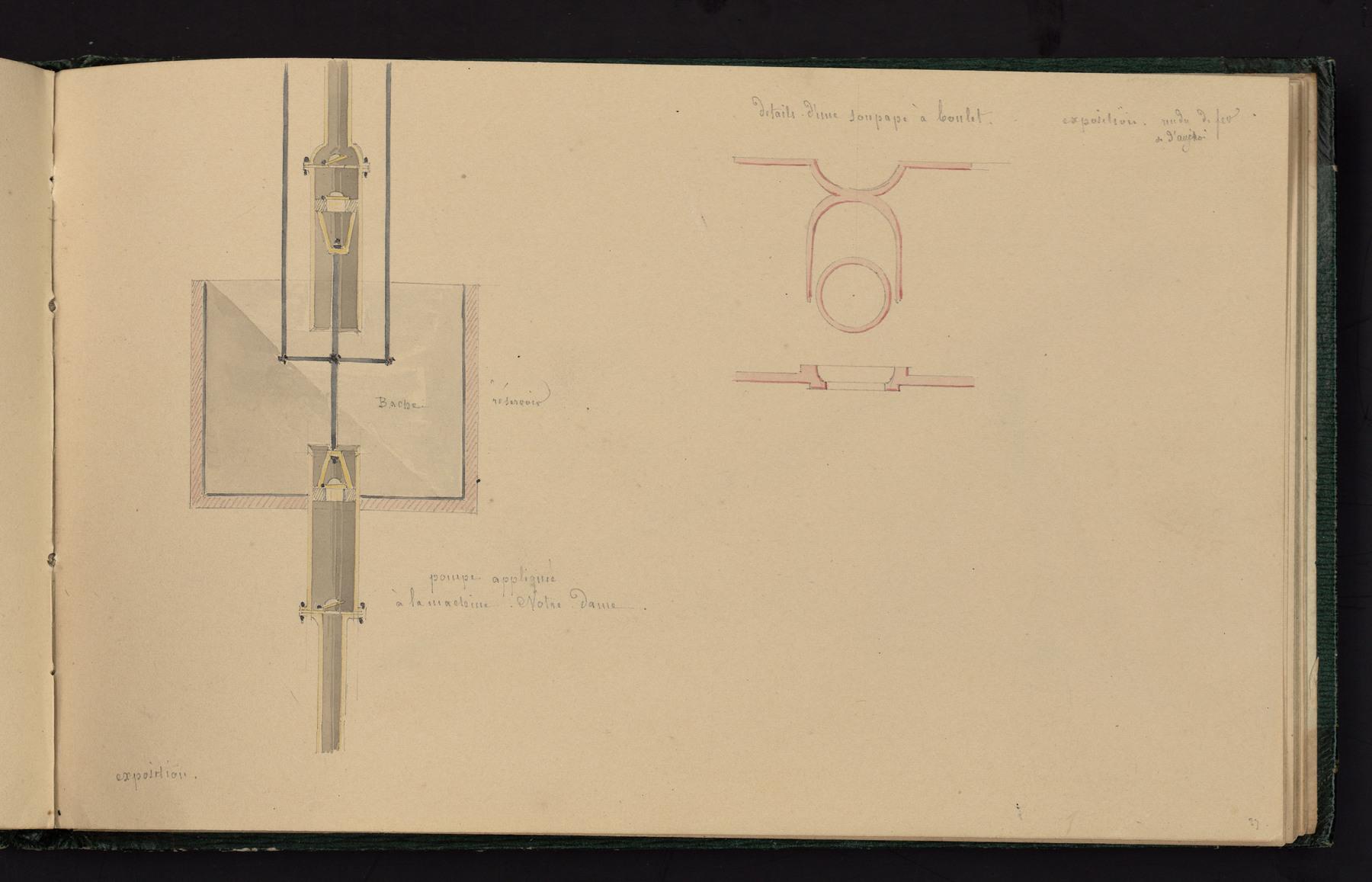 Contenu du Pompe appliquée à la machine Notre-Dame