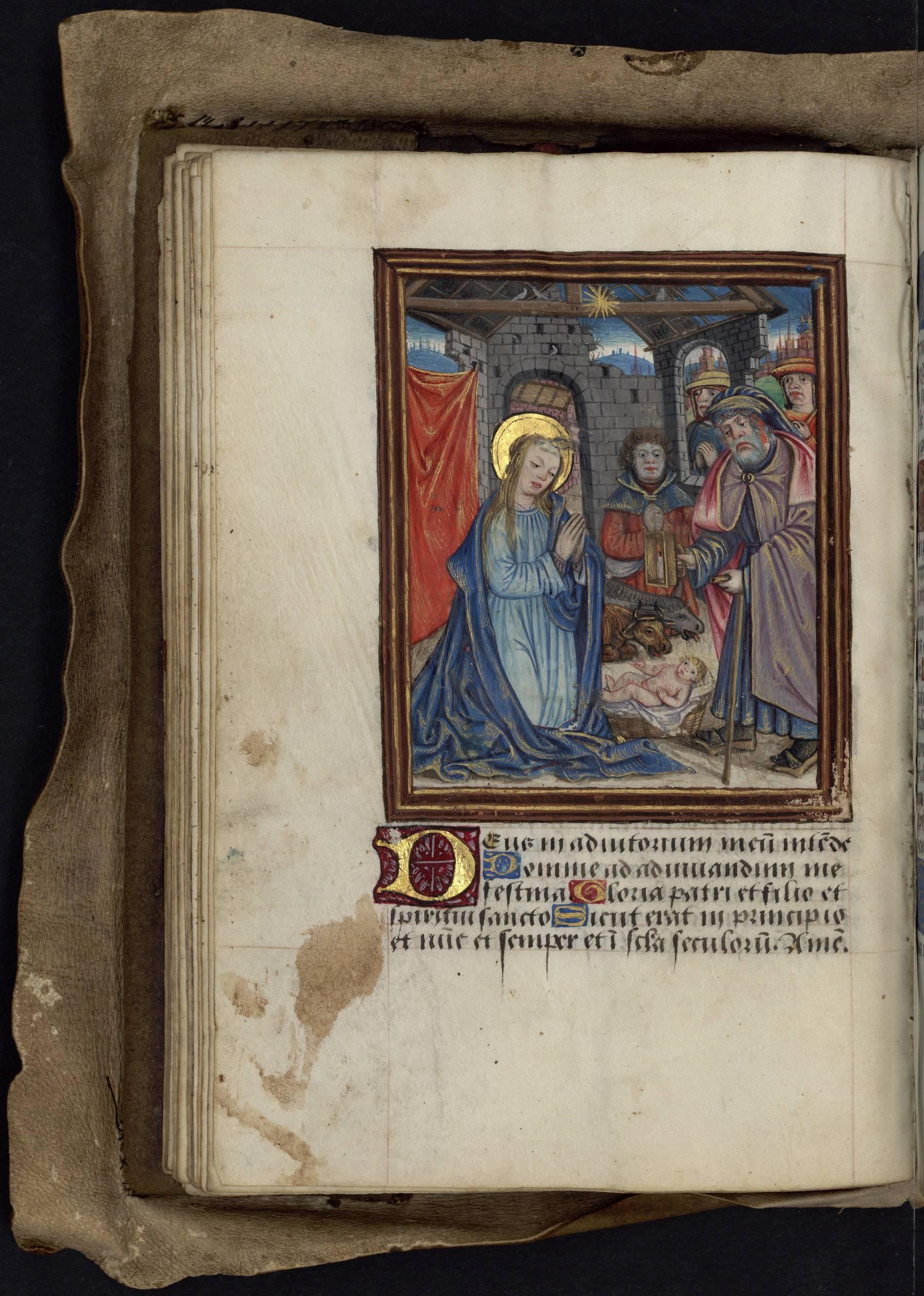 Contenu du Les heures de la Vierge : Prime
