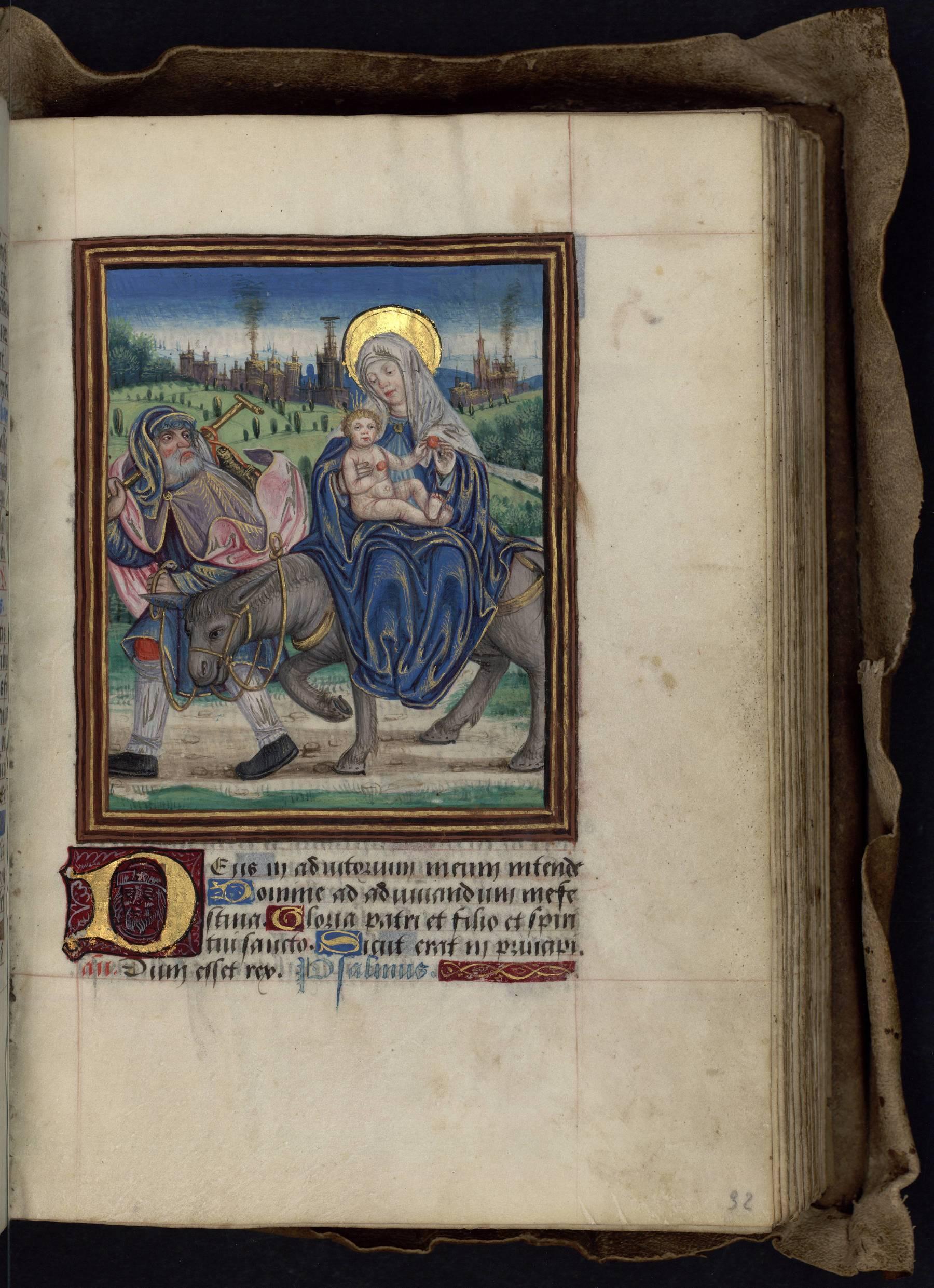 Contenu du Les heures de la Vierge : Vêpres