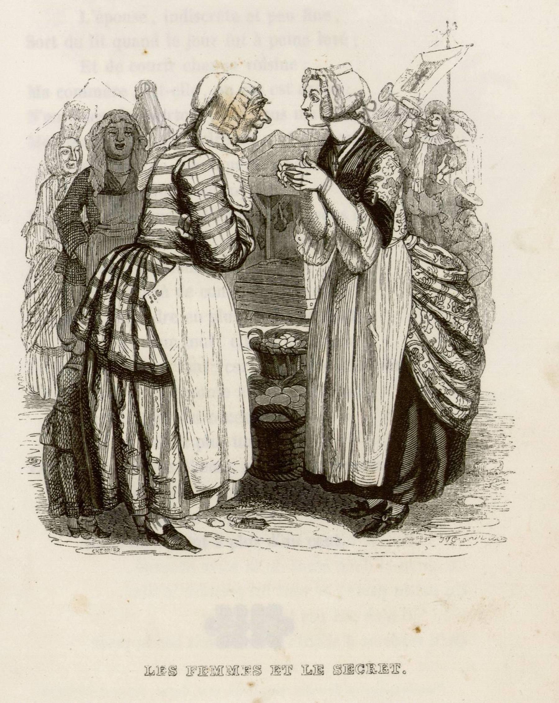 Contenu du Les femmes et le secret