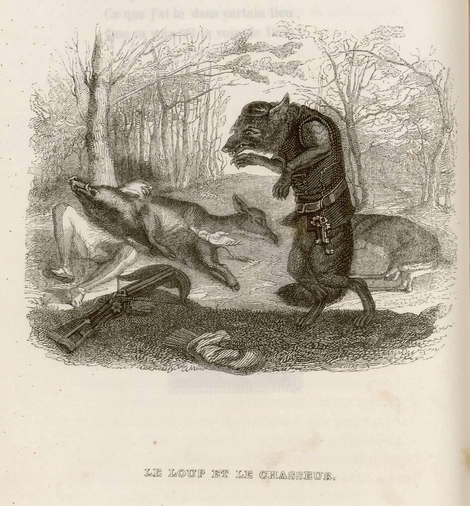 Contenu du La peur du loup
