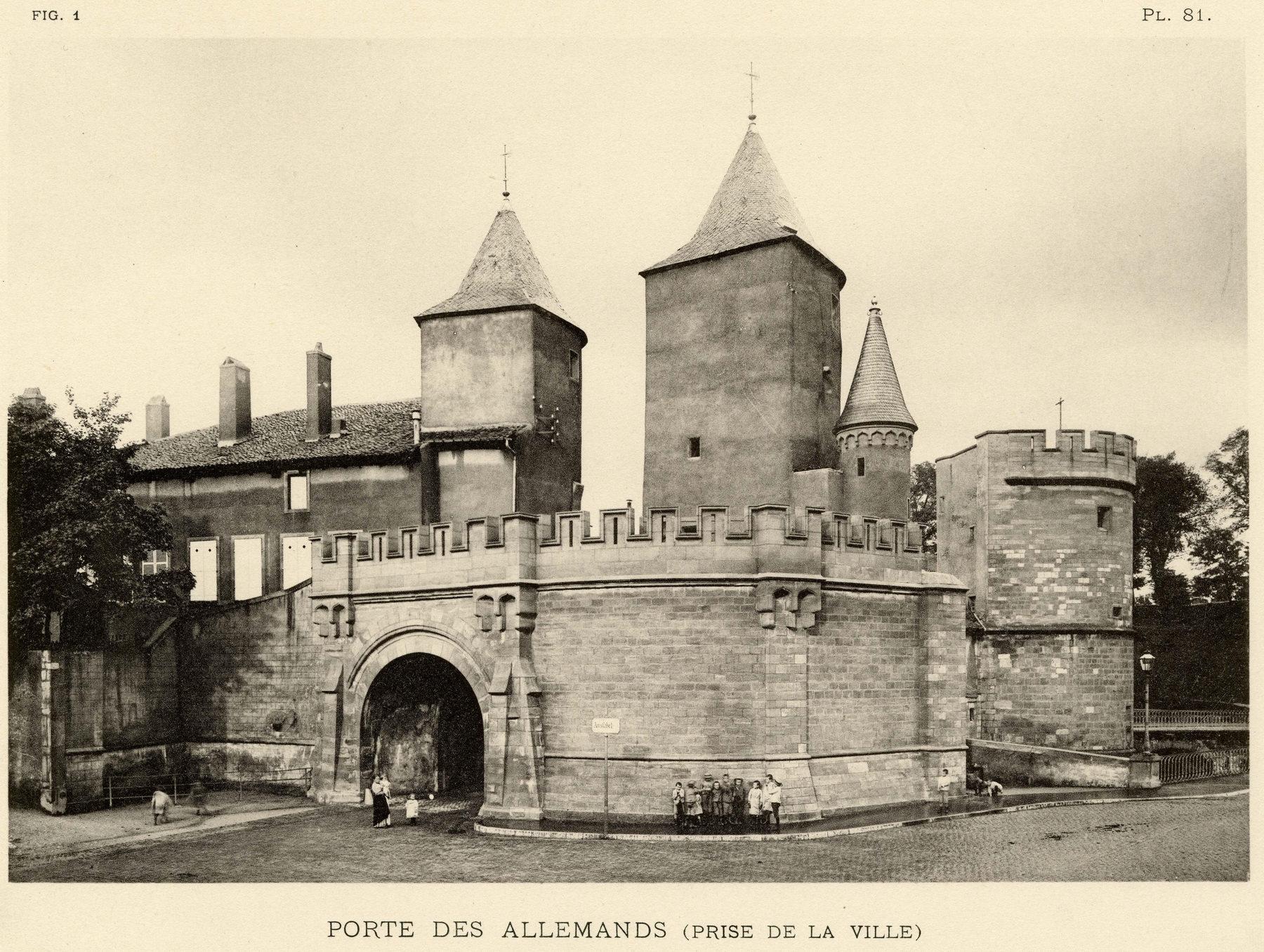 Contenu du La porte des Allemands (prise de la ville)