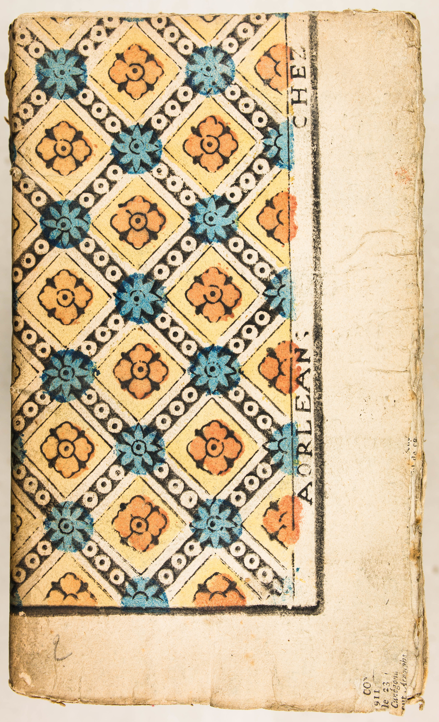 Contenu du Papier dominoté à décor géométrique