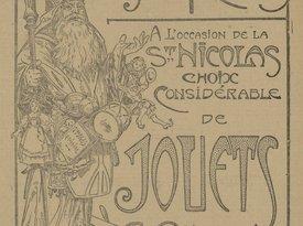 Contenu du Saint Nicolas dans la publicité