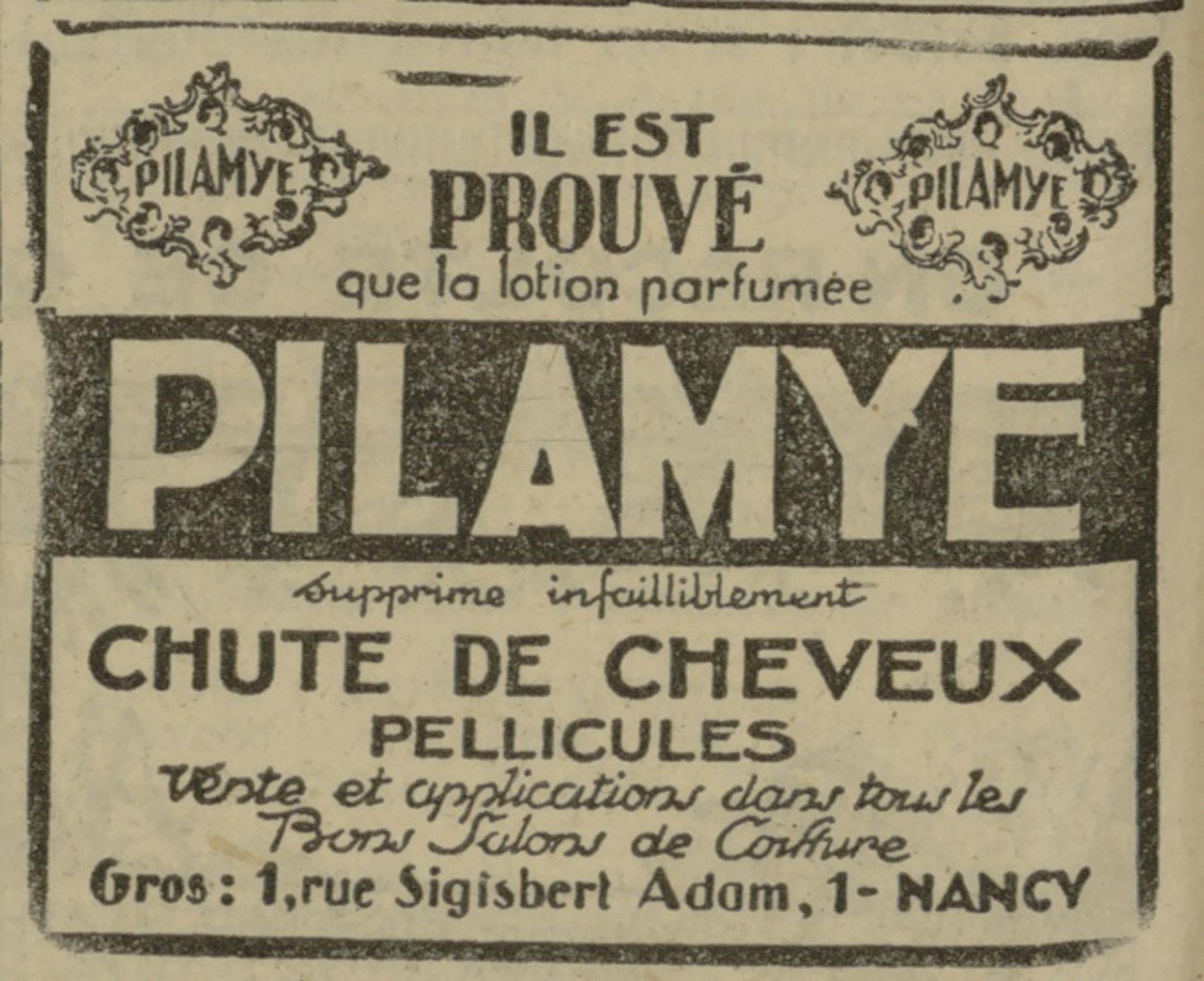 Contenu du Pilamye