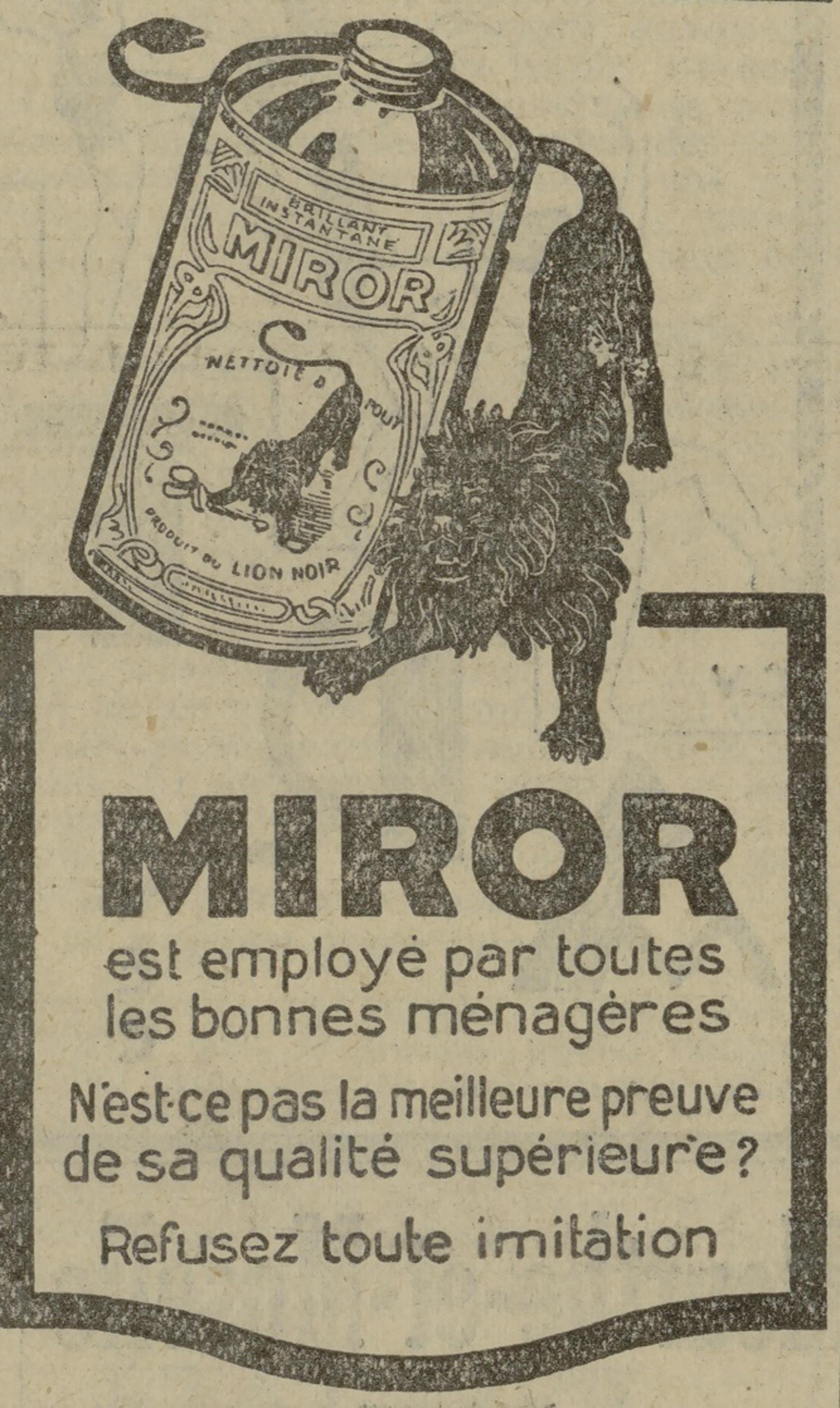 Contenu du Miror