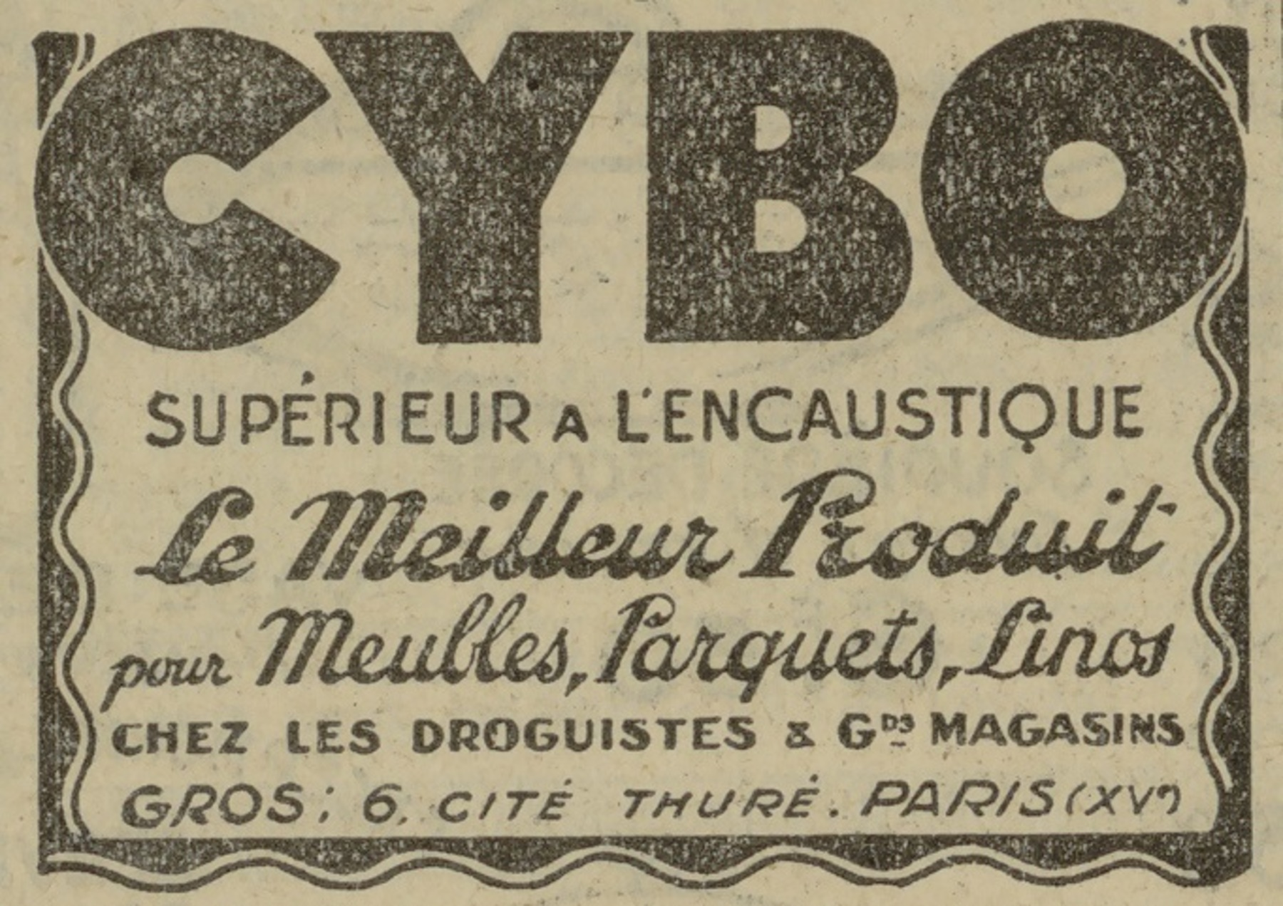 Contenu du Cybo