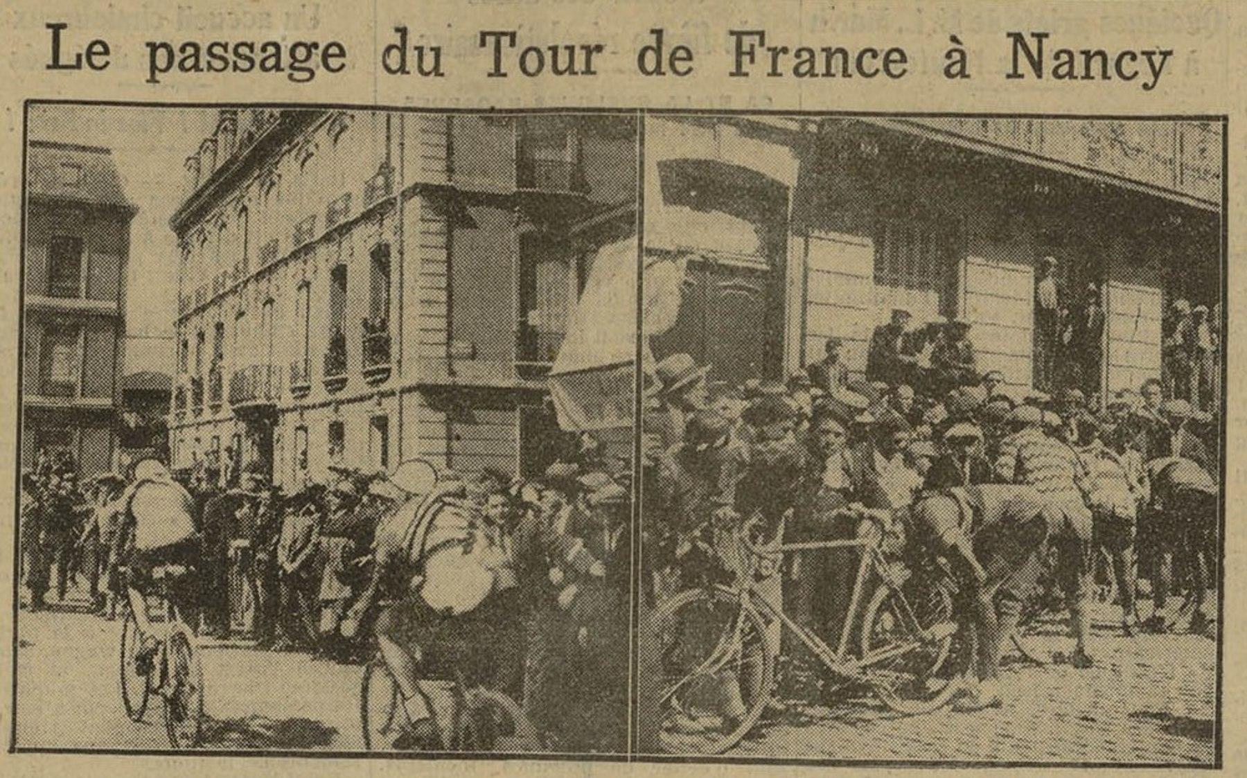 Contenu du Le Tour de France passe à Nancy