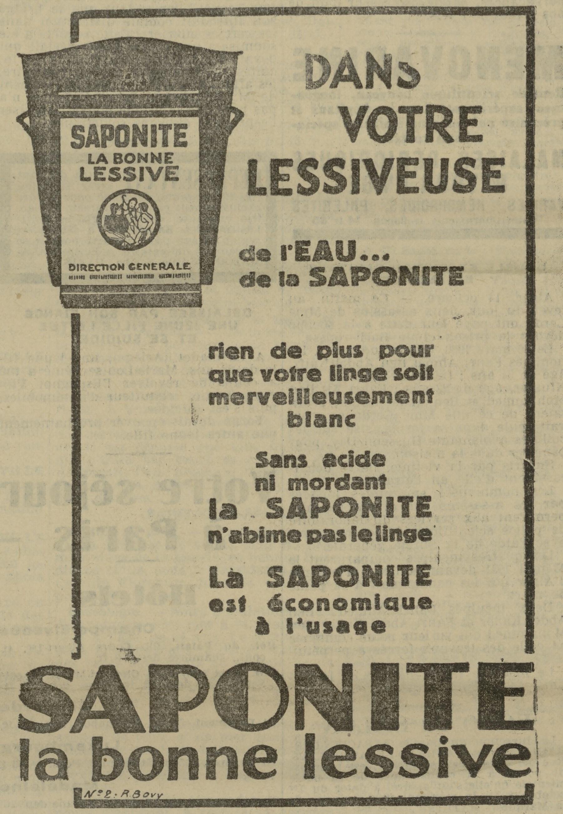 Contenu du La Saponite