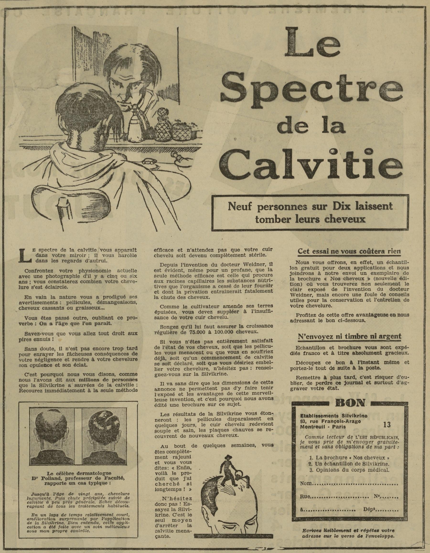Contenu du La Silvikrine