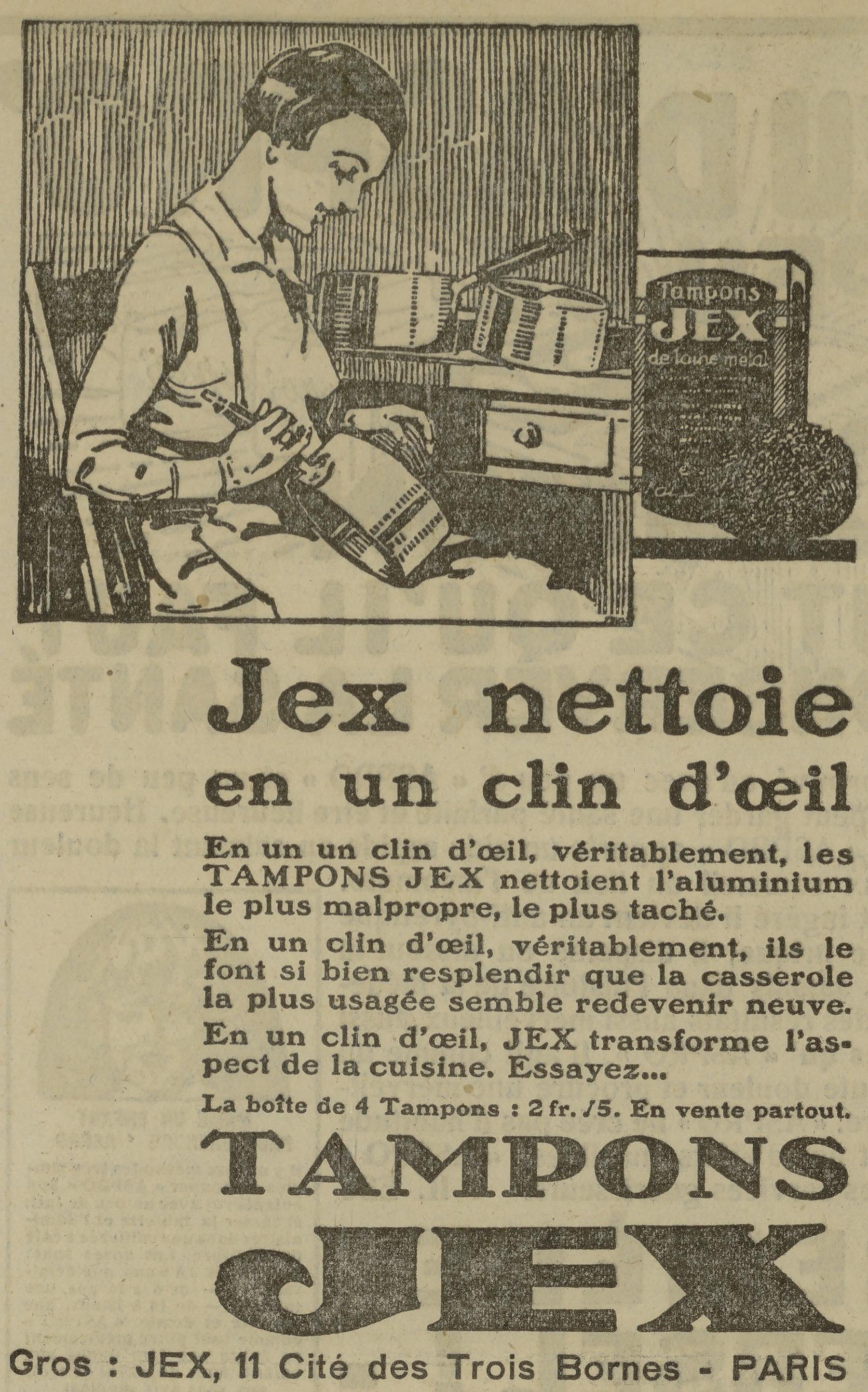 Contenu du tampons Jex