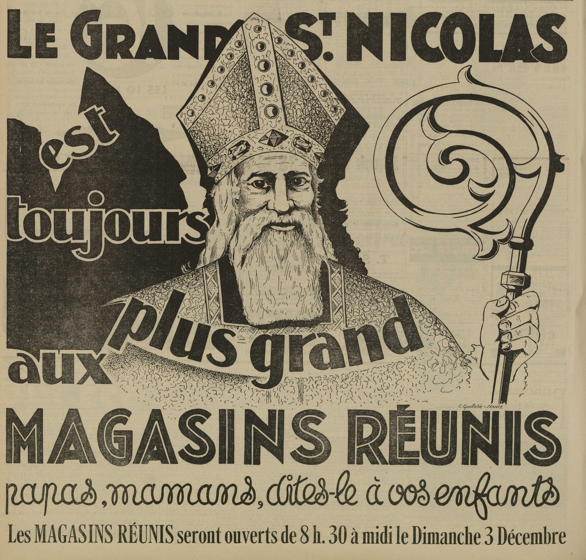 Contenu du Saint Nicolas, saint patron des Lorrains