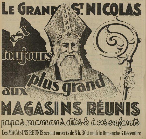 Saint Nicolas dans la publicité