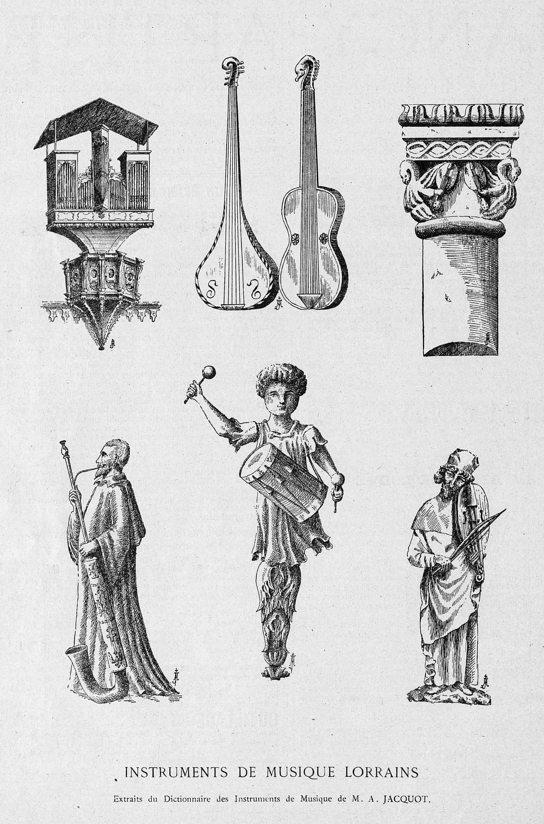 Contenu du Instruments de musique lorrains