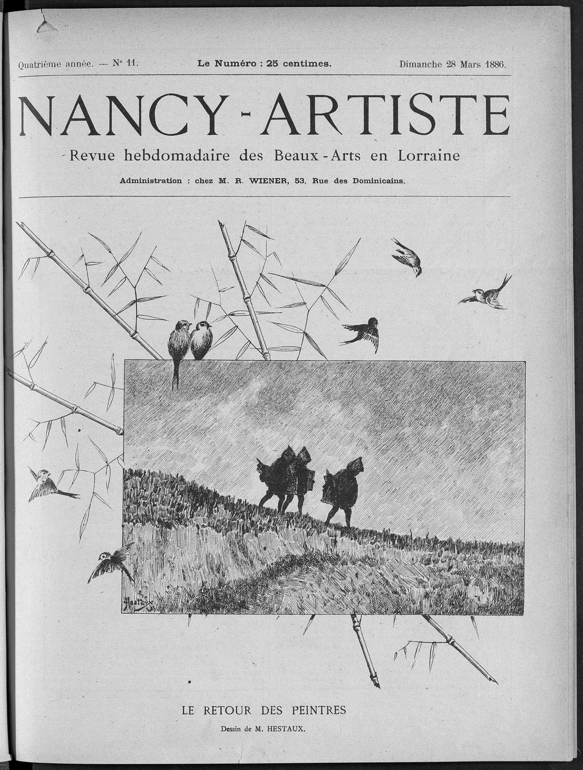De Nancy à Lorraine Artiste : la revue des arts lorrains