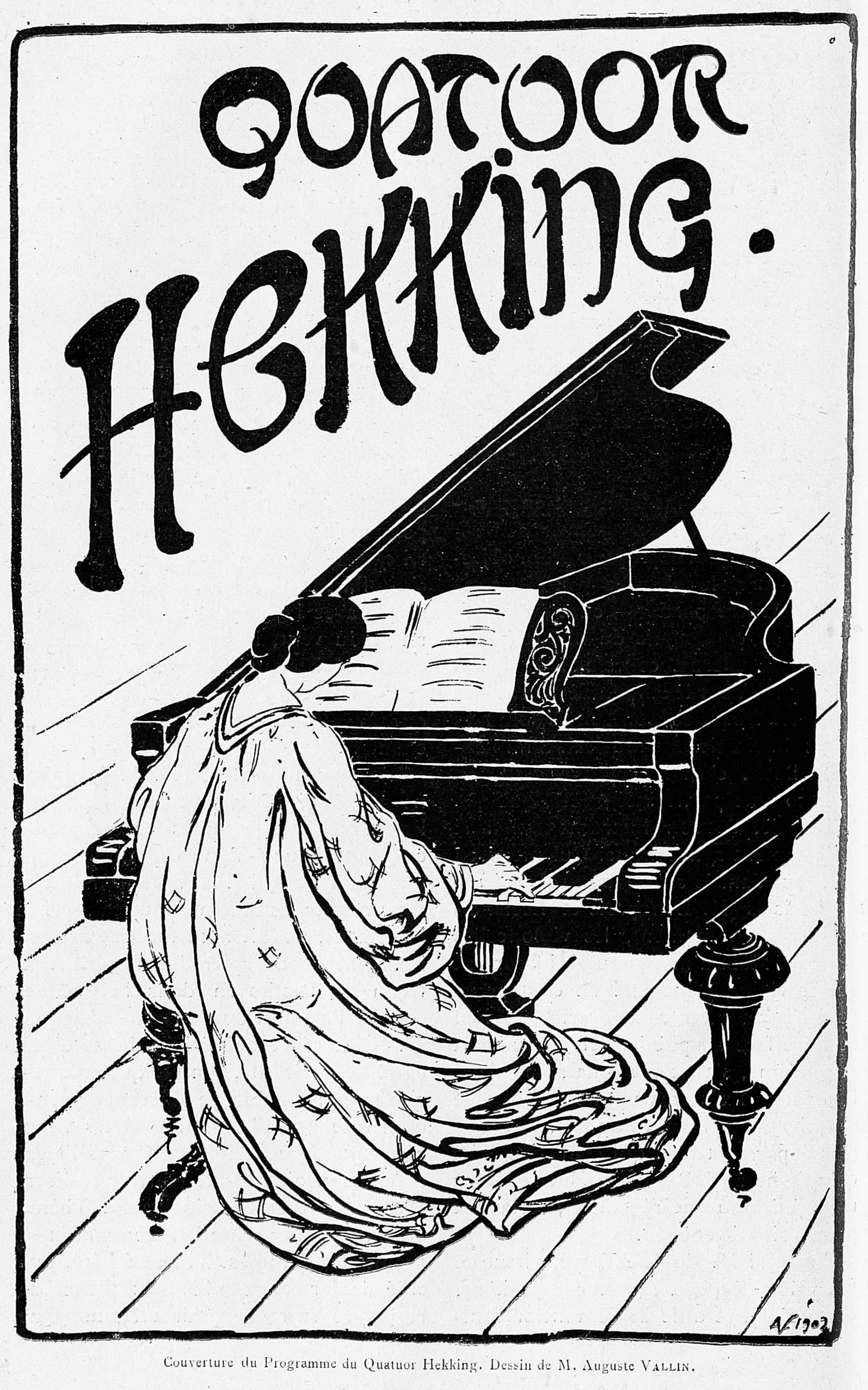 Contenu du Quatuor Hekking