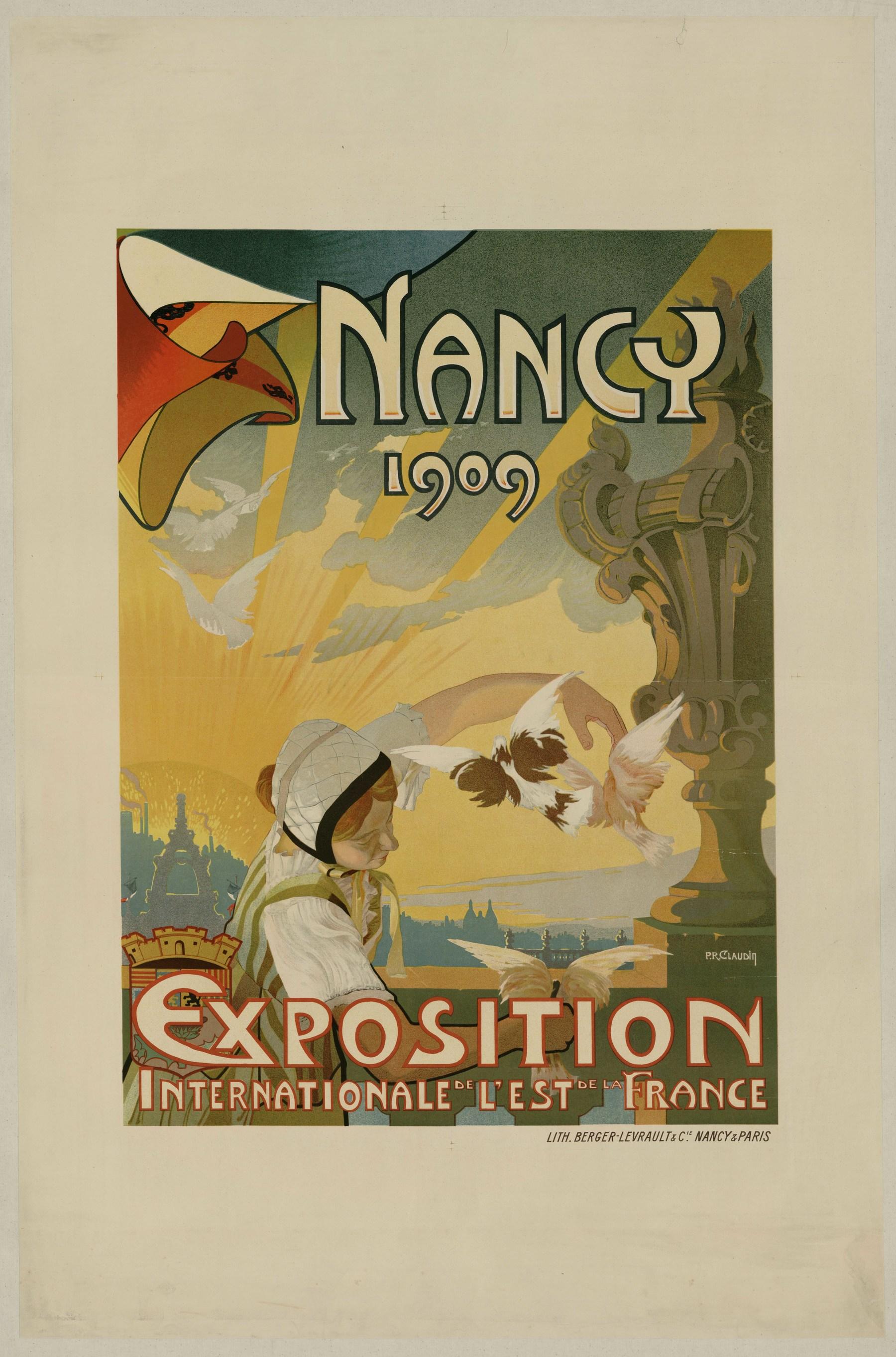 Contenu du Nancy 1909 Exposition Internationale de l'Est de la France