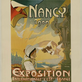Nancy 1909 : l'exposition internationale de l'Est de la France
