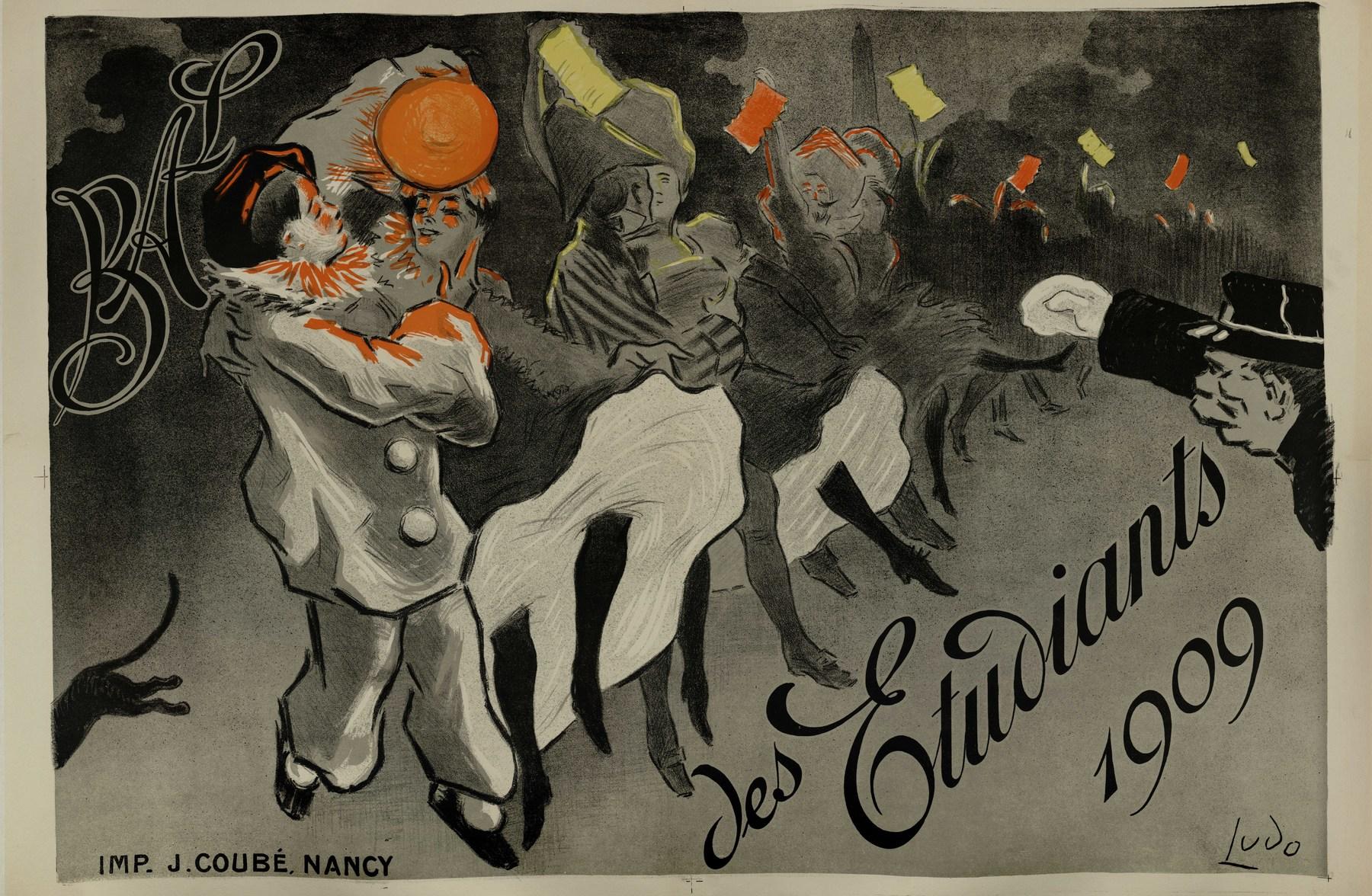 Contenu du Bal des étudiants 1909