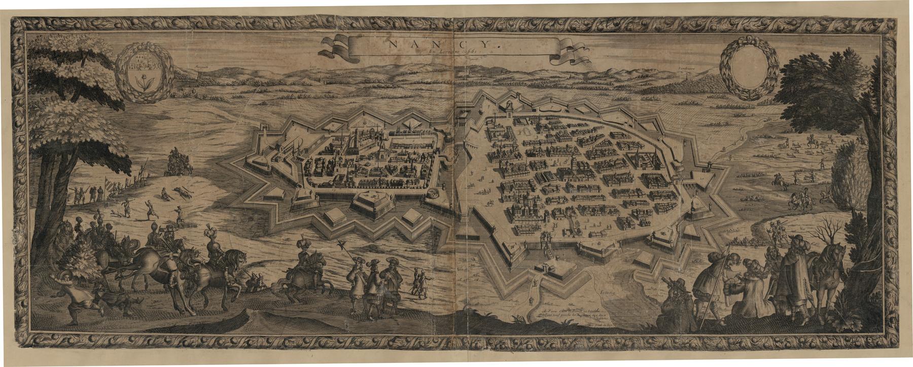 Contenu du Nancy en Lorraine 1661