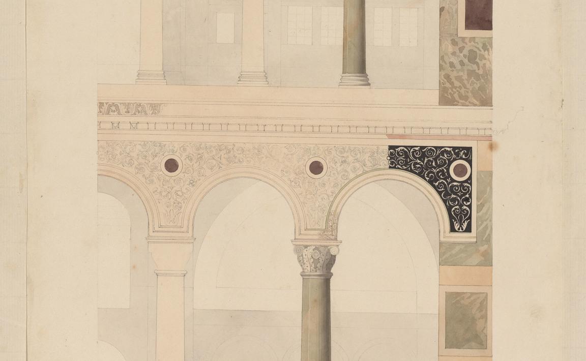 Contenu du Dans l'église de Sainte Sophie, Constantinople