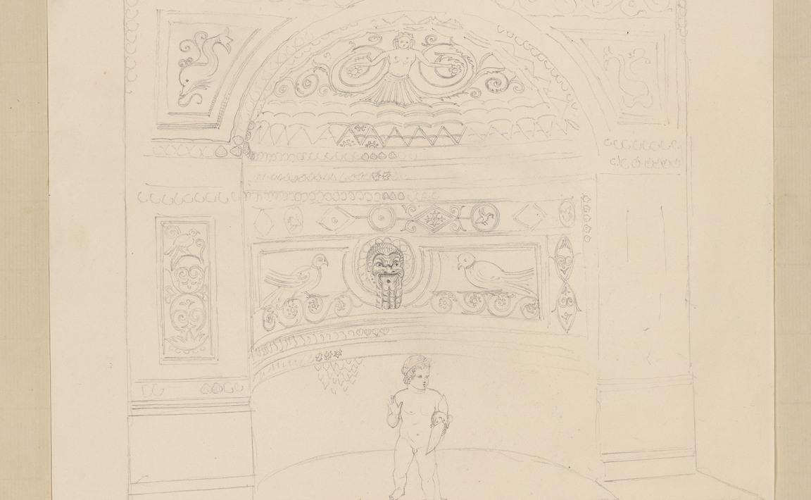 Contenu du Pompeia. Maison de la seconde fontaine