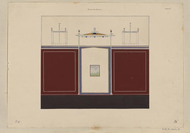 Contenu du L'album de Pompéi de Prosper Morey