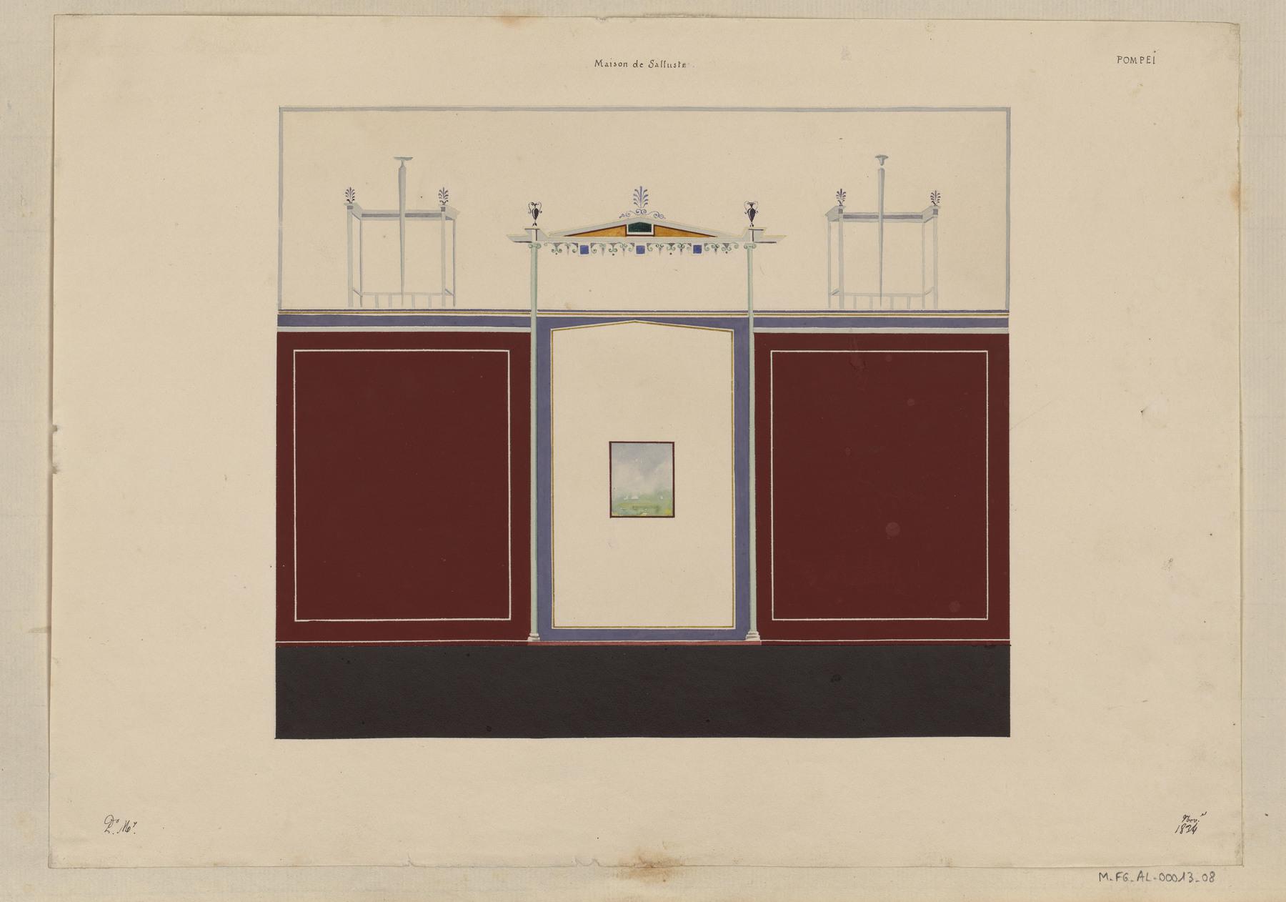 Contenu du Pompéi, Maison de Salluste