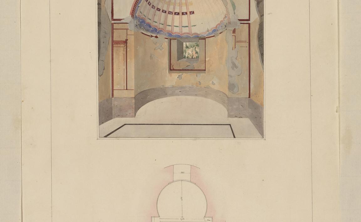 Contenu du Pompeii, petit bain de la maison de campagne