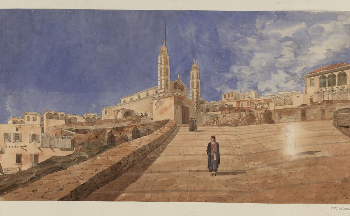 Contenu du Grèce. Île de Syra, juillet 1838