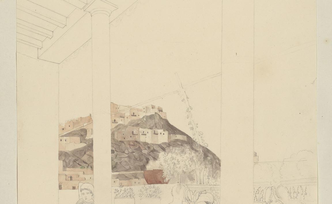 Contenu du Ile de Milo, maison de Mr. Brest, juillet 1838