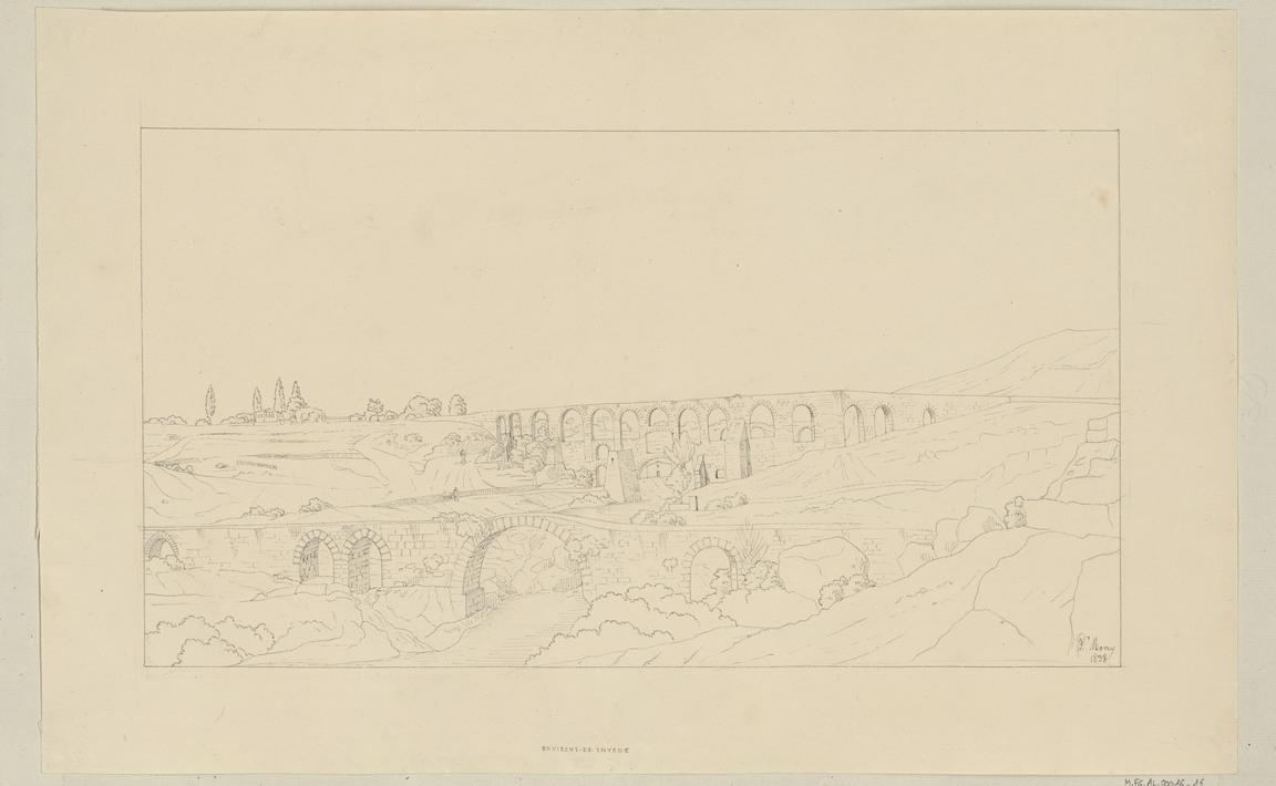 Contenu du Environs de Smyrne (Izmir), juillet 1838