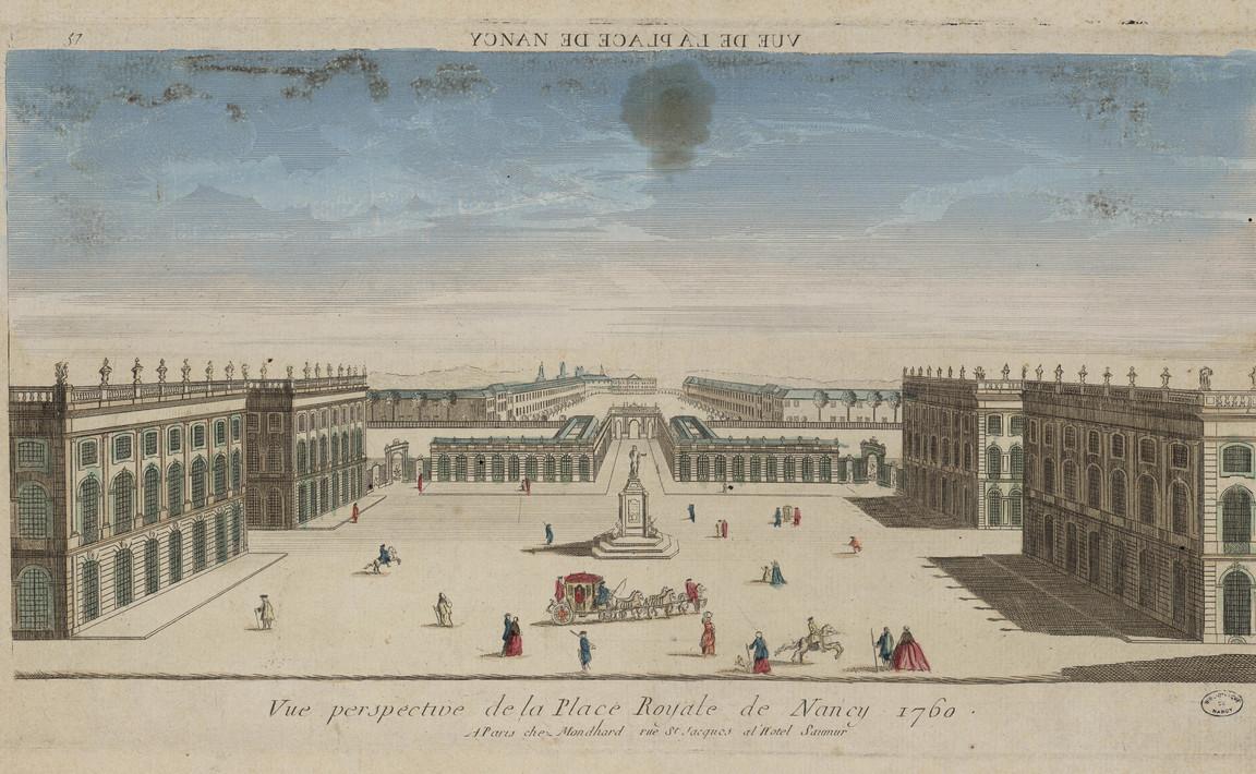 Contenu du La place Royale de Nancy 1760
