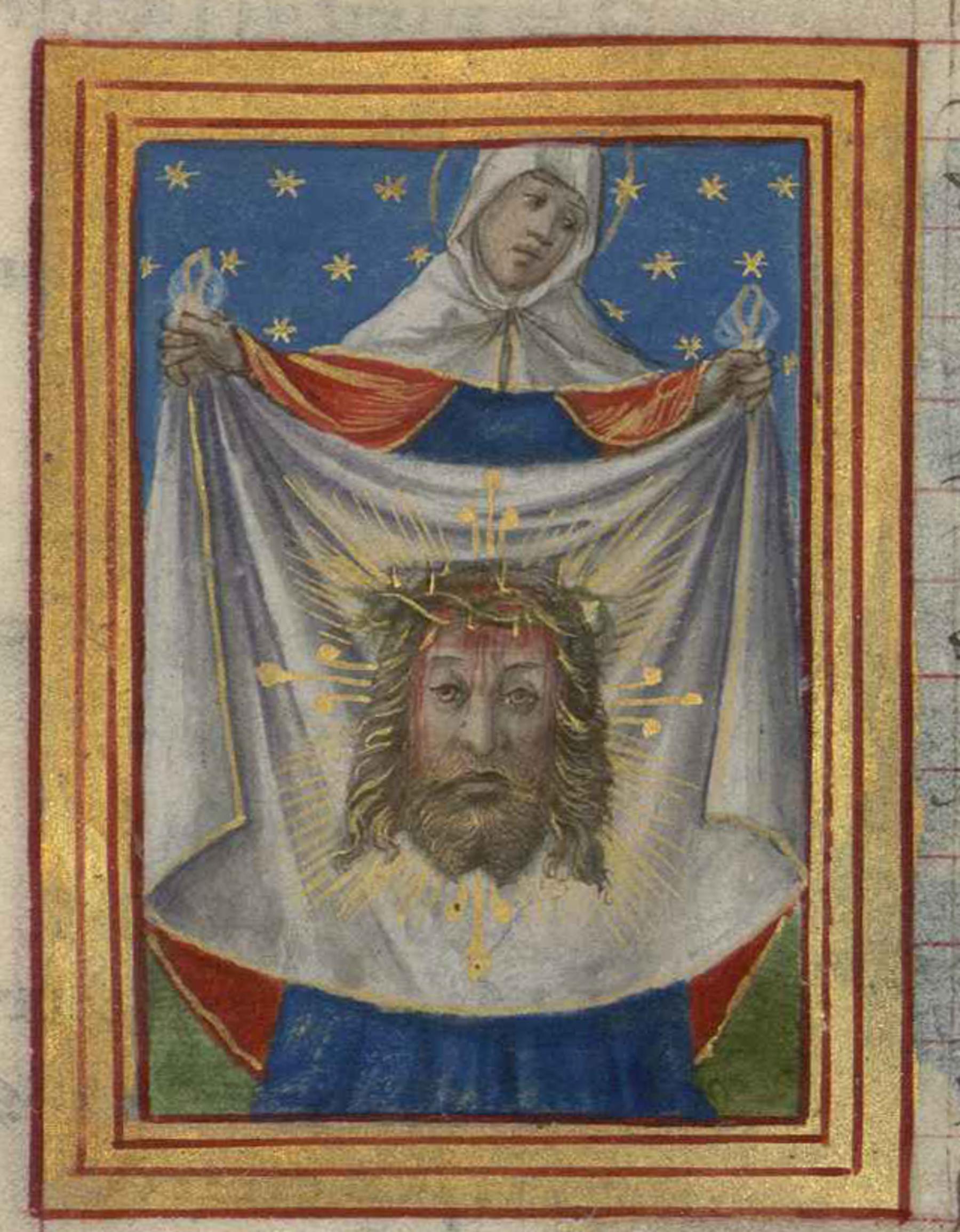 Contenu du Sainte Véronique
