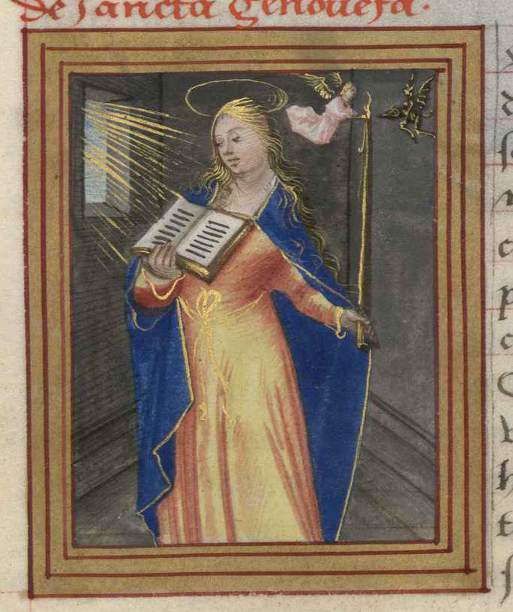 Contenu du Sainte Geneviève