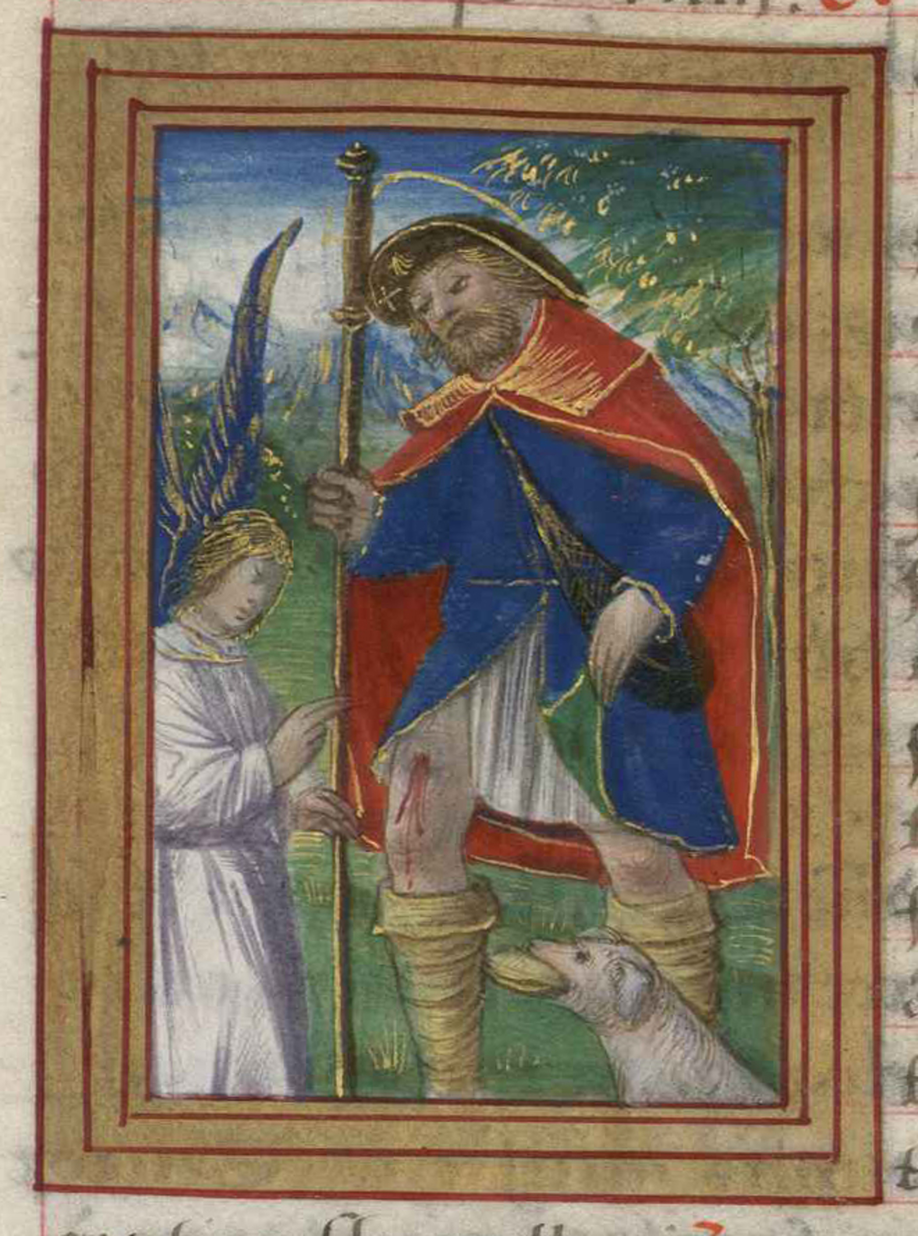 Contenu du Saint Roch