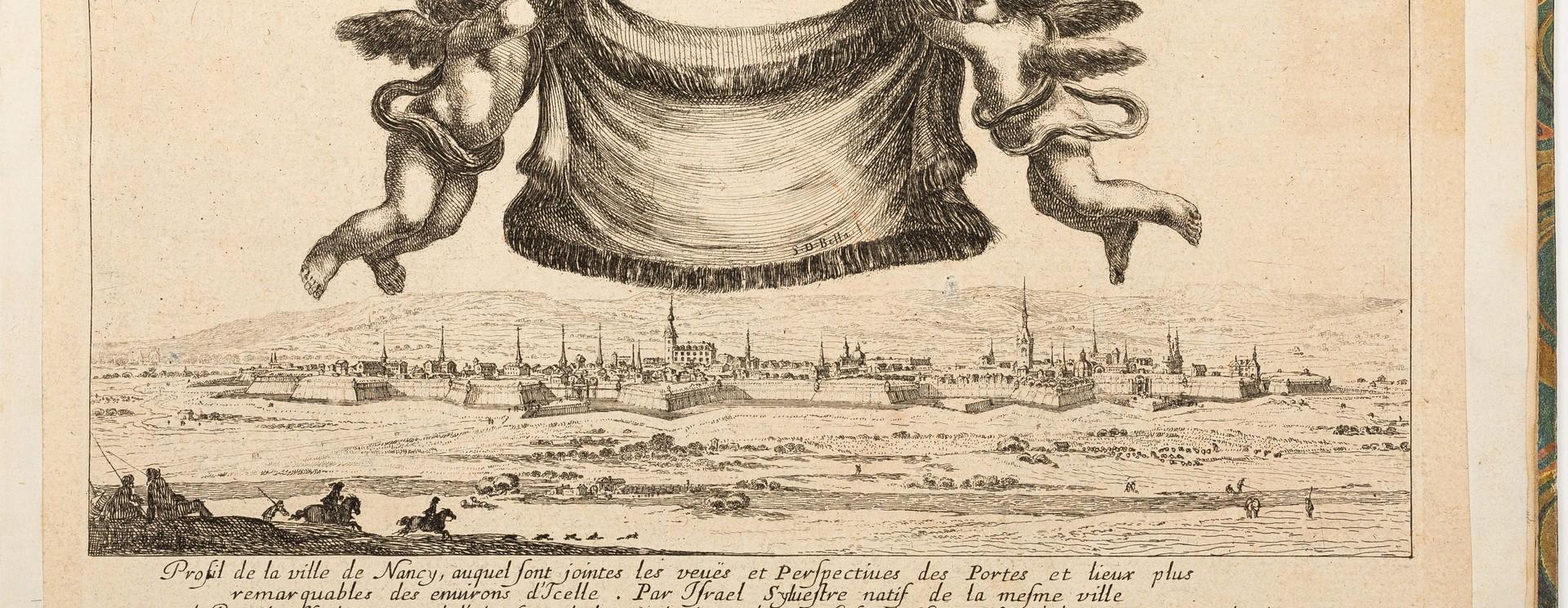 Invitation au voyage : choix de gravures d'Israël Silvestre (1621-1691)