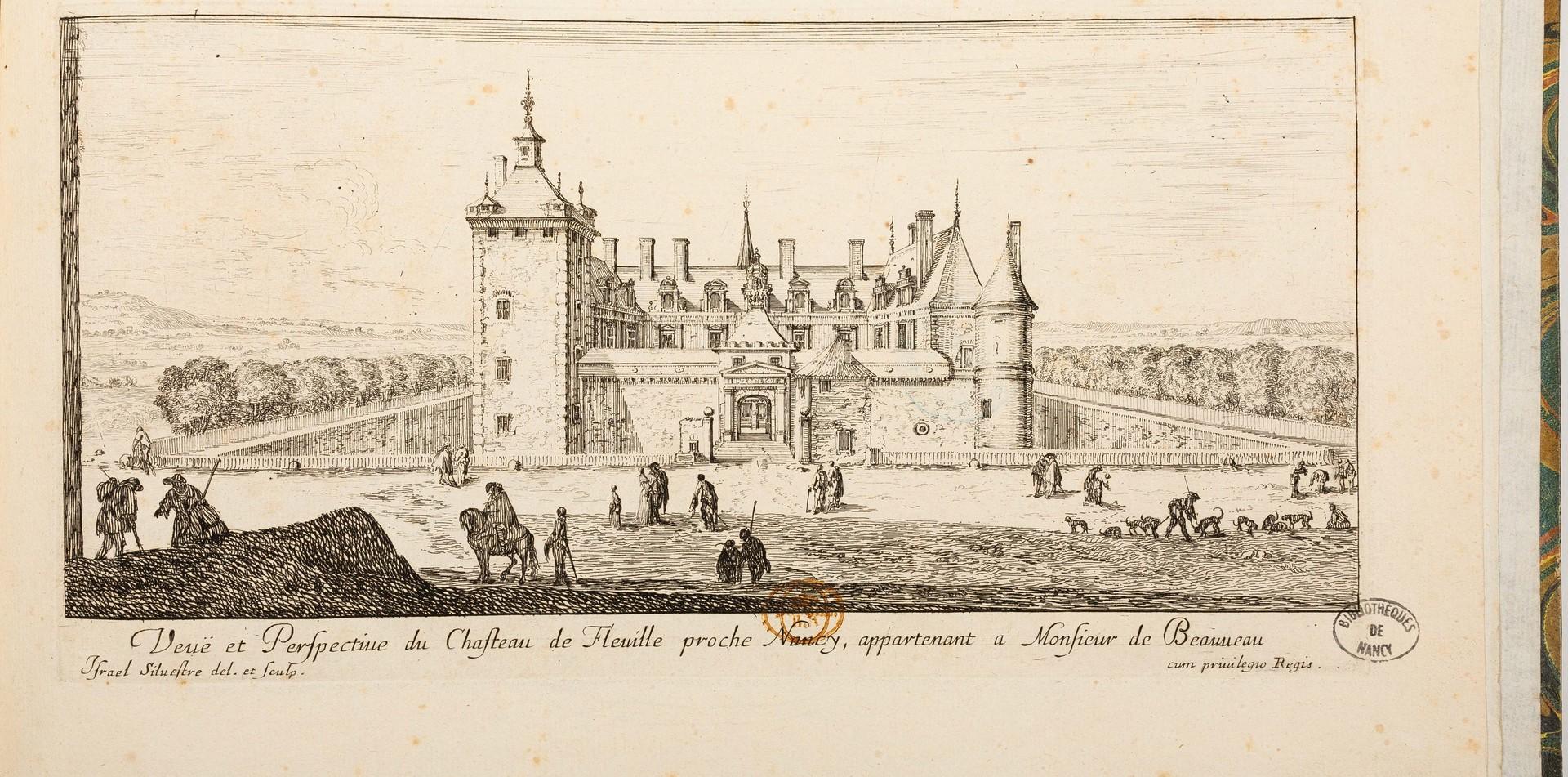 Contenu du Invitation au voyage : choix de gravures d'Israël Silvestre (1621-1691)