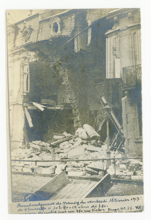 Contenu du Nancy bombardée