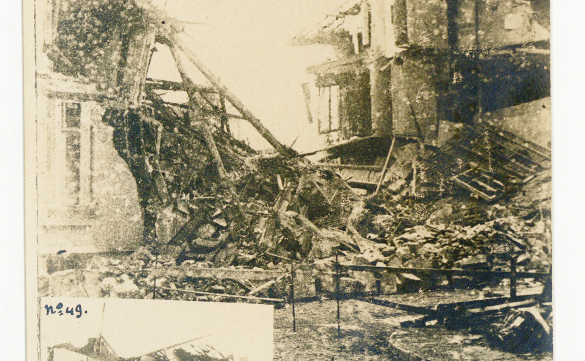 Contenu du Bombardement de Nancy du 16 octobre 1917.