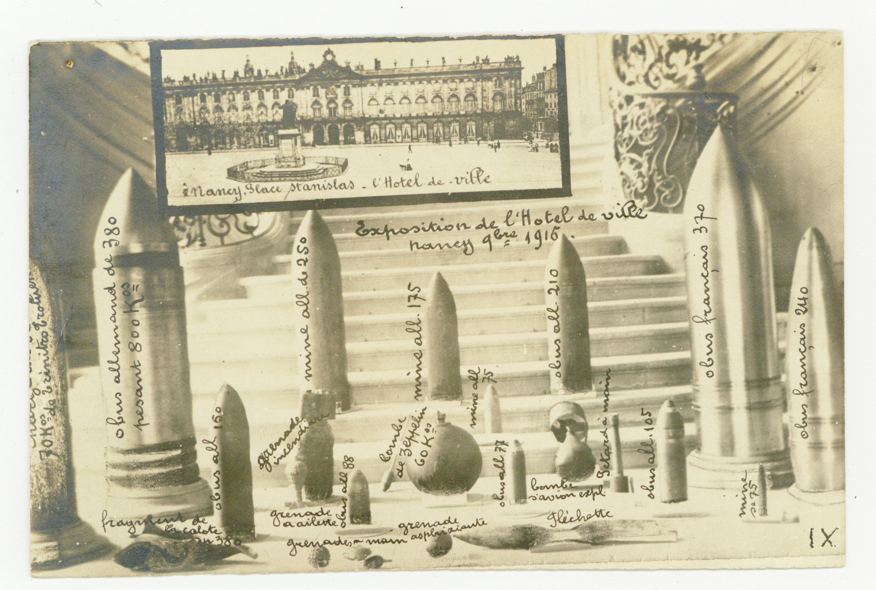 Contenu du Exposition particulière à l'Hôtel de ville.
