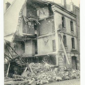 Nancy bombardée